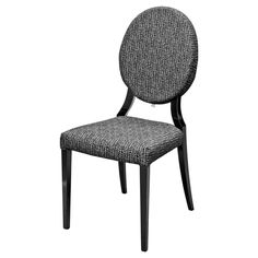 Cameo Monochrome Dining Chair