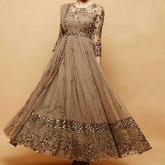 Ethnic Outfits, Ethnic Dress, Indian Outfits, Indian Anarkali Dresses, Anarkali Suits, Punjabi Suits, Salwar Designs, Blouse Designs, Gown Party Wear