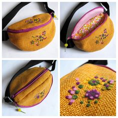 felted fanny pack from azzaph and toritextil