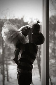 Oh my goodness. Can't wait to get a pick our our little dancer with her daddy!