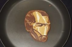 Washington State father turns pancakes into art Breakfast Pancakes, Comic Book Characters, Washington State, Fathers, Shape, Artist, Youtube, Food, Dads