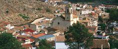 Vista de Tobarra desde uno de sus cerros