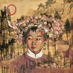 Hung Liu, Shan Hua (Mountain Flower)