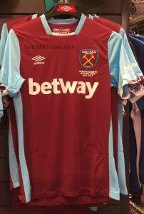 Leaked West Ham Home Kit 2016 17