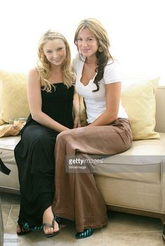 Actress Elizabeth Harnois and Actress Danneel Harris relax at the Sonya Dakar Emmy Gifting Lounge - Day One in Beverly Hills, California on September Get premium, high resolution news photos at Getty Images Daneel Ackles, Jensen Ackles, Young Celebrities, Celebs, 10 Inch Hero, Amanda Byrne, Elisabeth Harnois, Danneel Harris, Female Of The Species