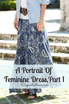 I love this skirt! (A Portrait Of Feminine Dress, Part 1)