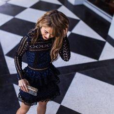 Self Portrait Dress at Bergdorf Goodman - The Style Bungalow