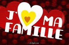 J♥ Ma Famille