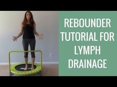 DIY Rebounder Workout Tutorial for Lymphatic Drainage & Cellulite Reduction | MAX Fluid Weight Loss - YouTube
