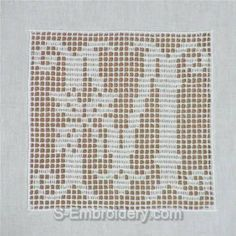 Doilies ovais - Padrões de crochê de filé - HOC DESIGN CROCHET
