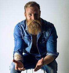 Amazing Beard Styles from Bearded Men Worldwide Beards And Mustaches, Moustaches, Handsome Bearded Men, Scruffy Men, Walrus Mustache, Beard No Mustache, Red Beard, Beard Love, Great Beards