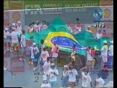 SENNA - GP do Brasil de 1993 (última volta + pódio)