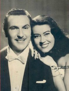 Only we, cubans, know who they were: Olga Chorens y Tony Alvarez, gloria de la farandula cubana.