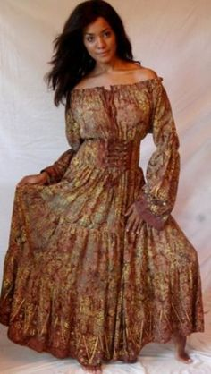 Peasant Dress from Lotus In The Moonlight $43.99