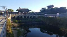 수원화성.화홍문.동북각루.