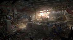 The Last of Us concept art- James Paick