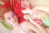 Merris our Vintage Mermaid doll Handmade #lacoutureamore $225