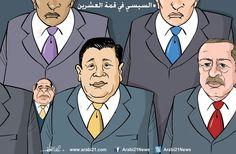 كاريكاتير: السيسي في قمة العشرين