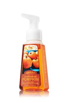 This was my fav scent last year....cant wAit to get some more!!!!    Sweet Cinnamon Pumpkin Gentle Foaming Hand Soap - Anti-Bacterial - Bath & Body Works