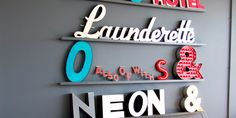 Signs for Homes - what a great shop, lots of cool typographical signage as homeware
