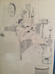 Bernie Fuchs Drawing
