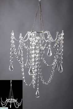 DIY Chandelier - cool website to shop for cool, crafty stuff | pleasureweddingz.compleasureweddingz.com