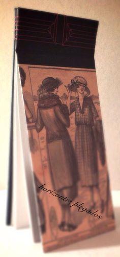 Cuaderno cosido japonés. Papel de estraza. #hitozontesplegados