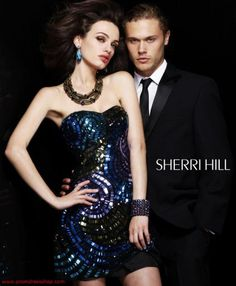 Sherri Hill Short 2872 at Prom Dress Shop
