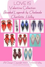 Love Is - Valentine Collection (E-Book) by Charlotte Holley - Beaded Legends by Chalaedra at Bead-Patterns.com