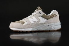 New Balance  - New Balance MRT580 D Sneakers Camouflage  White  - Fahrenheitstore