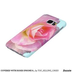 COVERED WITH ROSES IPHONE 6 S CASE