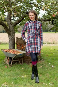 Outfit: 'Apple Picking with my Hunter Boots' | Mood For Style - Fashion, Food, Beauty & Lifestyleblog