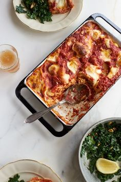 Last Minute Red Lasagna Recipe