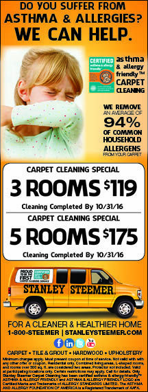 stanley steemer carpet cleaning in rochester ny remove home allergens and get your carpets