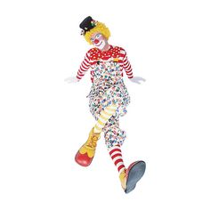 Clown ❤ liked on Polyvore featuring clowns