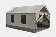 Barebones Lodge Tent Large Waterproof Canopy Tent for BigGroup Camping Occasions -- Learn more by visiting the image link. (This is an affiliate link) Group Camping, Camping Near Me, Camping World, Family Camping, Tent Camping, Camping Gear, Camping Site, Camping Trailers, Camping Hacks