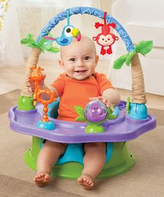 Look at this #zulilyfind! Green Deluxe SuperSeat® Island Giggles by Summer Infant #zulilyfinds