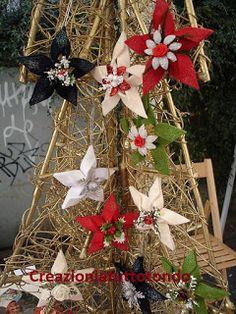 Eccovi come promesso alcune foto dei lavoretti fatti per i mercatini di Natale..... come sempre qualche idea in più da dove prendere spu...