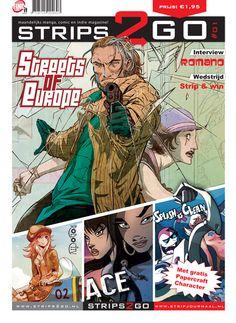 De cover van Strips2Go #01