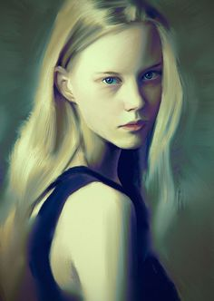 Paintable.cc | 50 Stunning Digital Painting Portraits: Carlos Alberto #digitalpainting #portrait #inspiration
