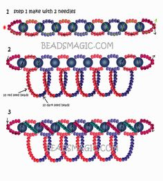 free-pattern-beading-necklace-tutorial-2 - U need seed beads 11/0, Pearl beads 6mm.