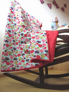 Busy fingers, busy life...: Tutorial: The Easy Quilt, superduper easy blanket/quilt!
