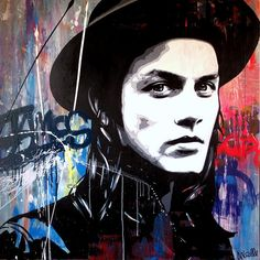 James Bay fan art painting by Julie Nicolle. Art Painting, Illustration, Painting Illustration, Painting, Musician Art, Male Art, Art, Fan Art, Street Art
