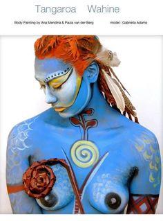 Ana Mendina | Body Art Body Art, Princess Zelda, Gallery, Drawings, Artwork, Painting, Fictional Characters, Dibujo, Pintura