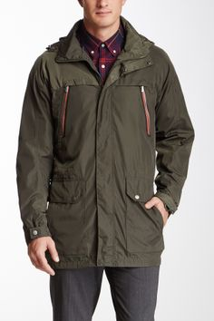 T-Tech by Tumi Hooded Packable Anorak Jacket