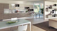 modern kitchen living room ideas - Google Search