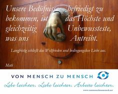llusion: Weltfrieden & bedingungslose Liebe Wenns Dir gemeinsames Nachdenken gefällt, dann teile es bitte   Mehr auf Von Mensch zu Mensch by Mati & www.vonmenschzumensch.net