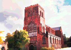 Shrewsbury Abbey by Peter Sandilands