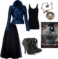 """Clockwork Angel: Tessa"" by m-huntzy on Polyvore"
