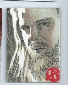 2015 Sons of Anarchy seasons 4-5 sketch
